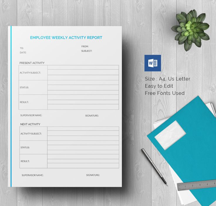 Pin by Rau0027ed Khader on مشاريع Pinterest Daily activities - daily activity report template