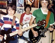 A very young Mr Bungle (Trevor Dunn, Mike Patton & Trey Spruance)