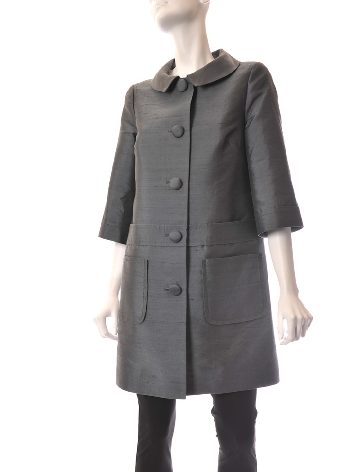 100% silk coat Marc by Marc Jacobs. $125! One opf my favorite designers...  I luv this....