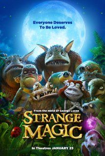 Strange Magic (2015) Goblins, elves, fairies and imps, and their misadventures sparked by the battle over a powerful potion.