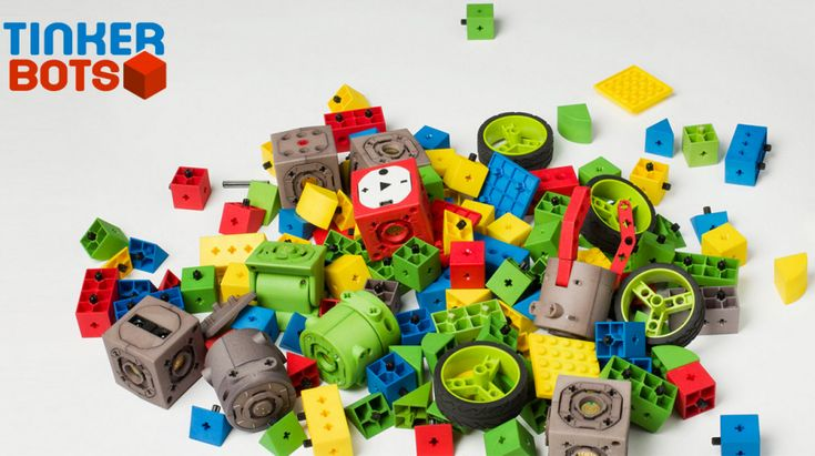 TinkerBots: This is The Modular Toy Robot You've Been Waiting For