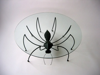 """Spider Table"", Judy Kensley McKie"