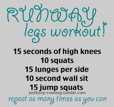 Runway Legs workout: Workout Exerci, Exerci Workout, Workout Physics, Exerci Fit Health, Legs Workoutwould, Dancers Body Workout, Runway Legs, Runway Workout, Dancers Workout