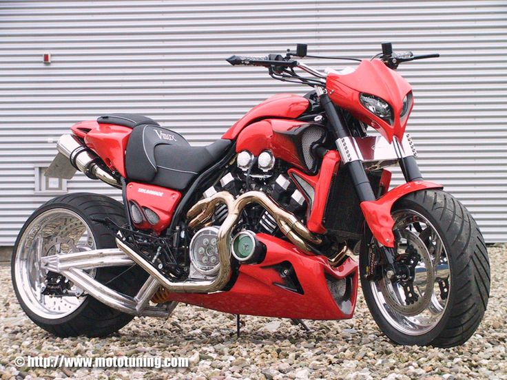 """Yamaha VMax """"Shotgum"""" - Roadster 1570 cc big bore 205 H.P."""