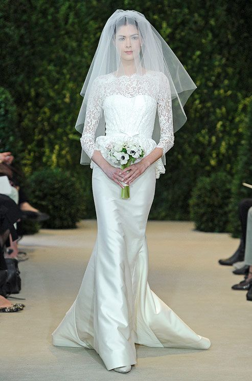 Carolina Herrera, Spring 2014Wedding Dressses, Bridal Collection, Herrera Spring, Spring Wedding, Dresses, Herrera Bridal, Carolina Herrera, Spring 2014, Carolinaherrera