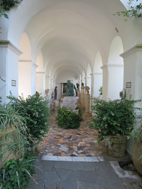 Villa San Michele Capri Italy Exterior Pinterest