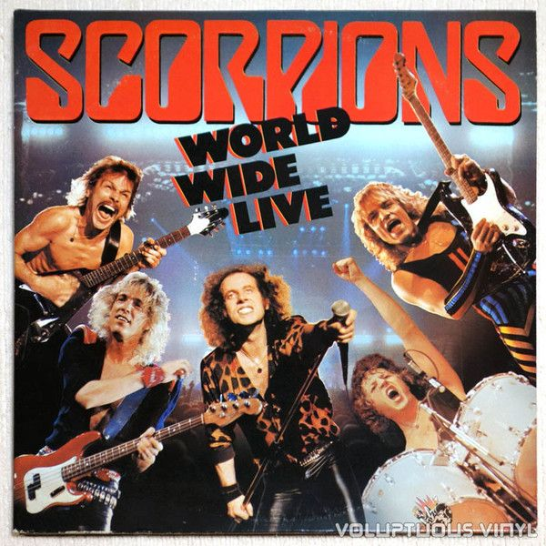 Scorpions ‎– World Wide Live (2LP live album from the #hardrock band from Germany) #vinyl