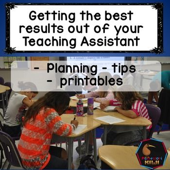 A communication, training and planning pack for teacher assistants, education assistants,teacher aides or Paraprofessionals who are employed to work with students with additional or special needs.Wanting to make sure you get the most from your paid assistant or  Paraprofessional?