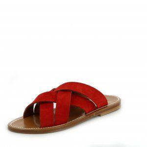 TORTELO Suede Vermelho Leather | Kjacques