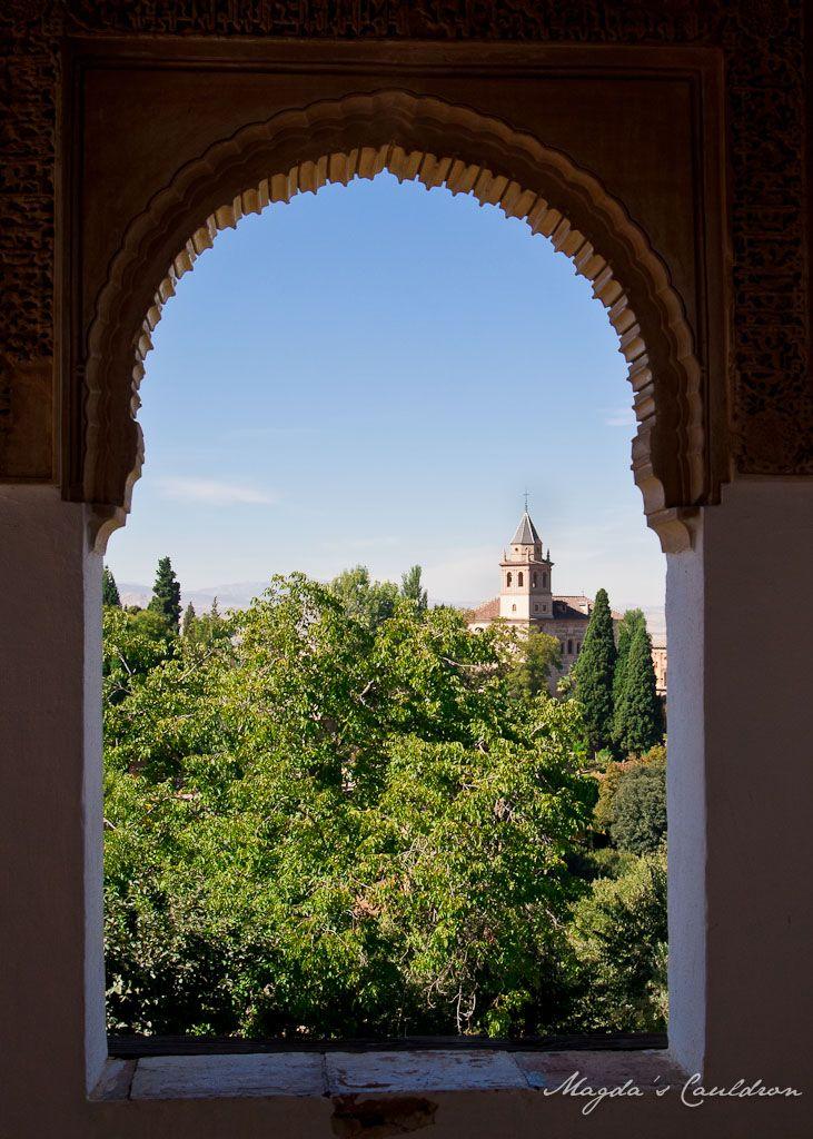 Alhabra, Granada, Spain - the window