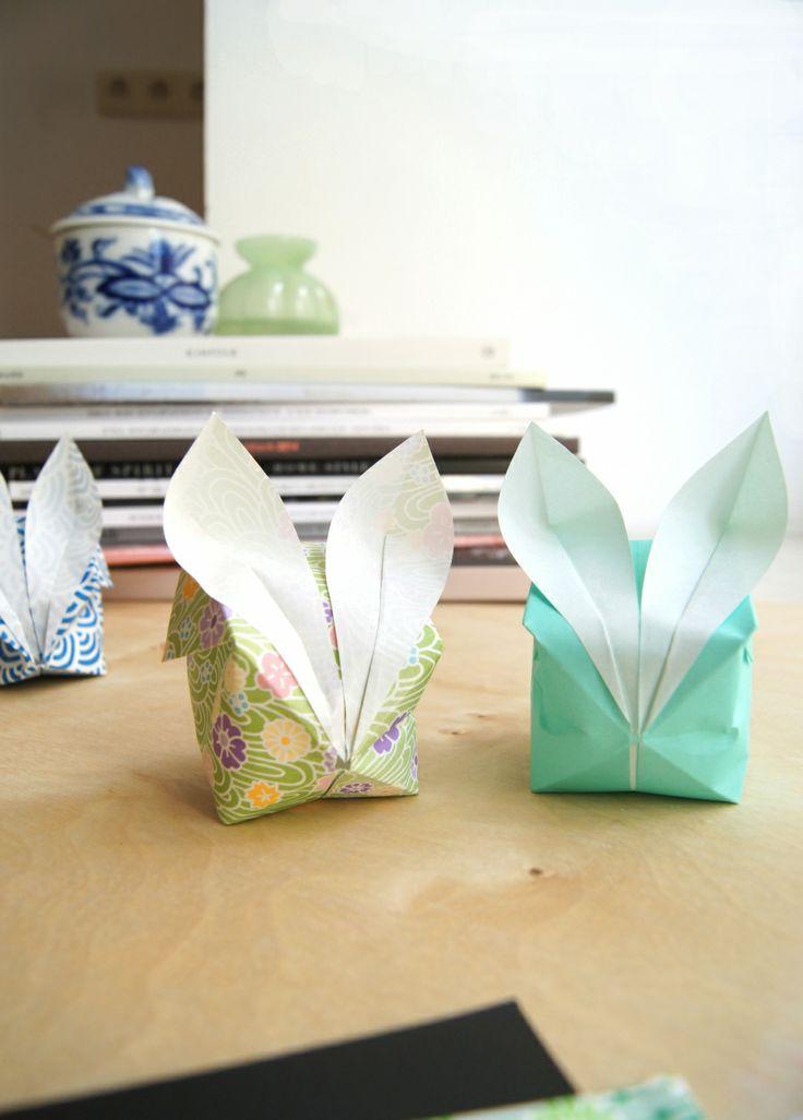 Drei Bilder – drei Ideen. Heute: DIY-Ideen für Ostern mit niedlichen Hasen