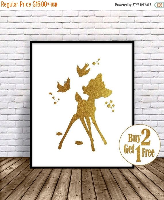 Hey, I found this really awesome Etsy listing at https://www.etsy.com/listing/239911659/on-sale-bambi-decor-bambi-disney-fawn