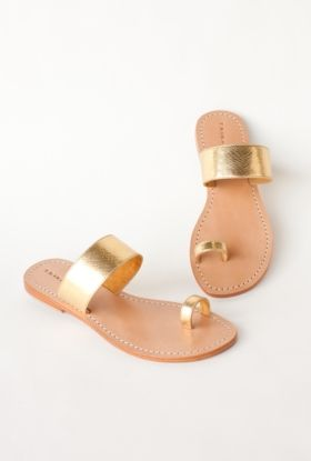 Wedding Shoes: The perfect beach friendly shoe - Palermo Sandal from Trina Turk