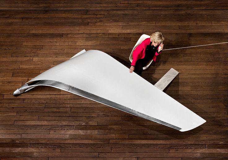 Julien Recours. Dagli hangar alle case, così gli aerei diventano design - LifeGate