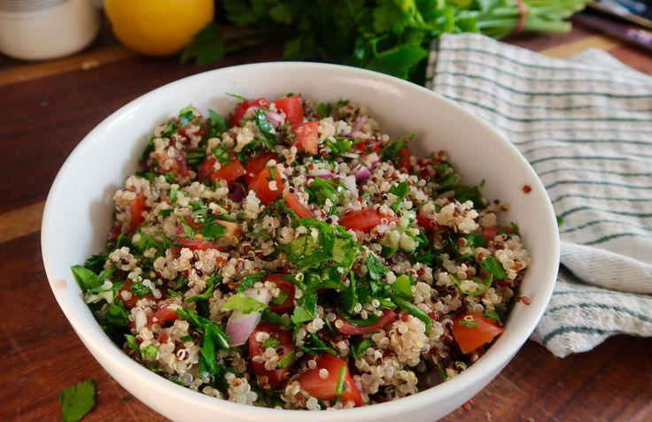Quinoa Tabouleh – Model Turned Cook