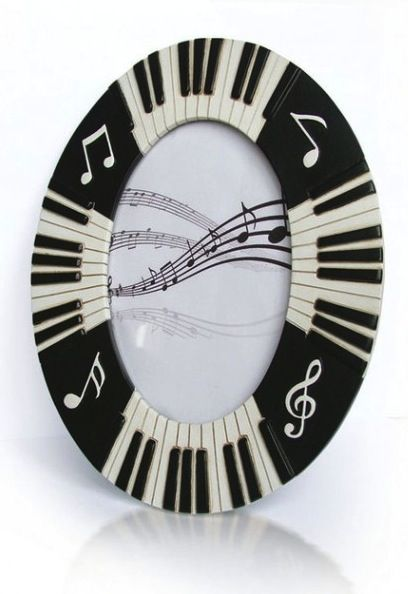 Piano Keyboard Photo/Picture Frame