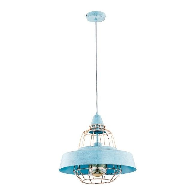 Lampa Wiszaca Tamaris 1 X 60 W E27 Mint Lampy Wiszace Pendant Light Ceiling Lights Decor