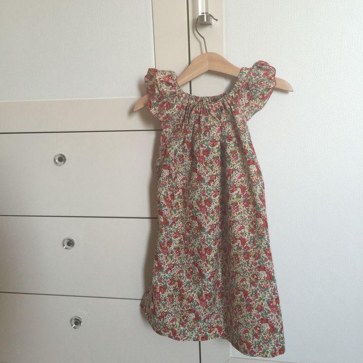 Girls dress- fabric from Liberty