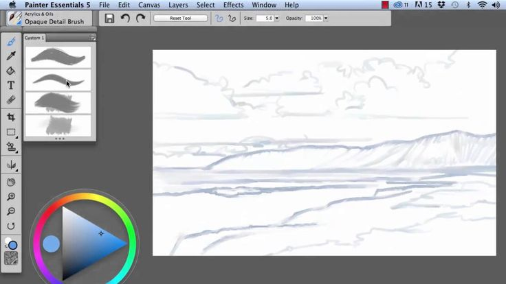 Painting with a Drawing Tablet - Corel Discovery Center
