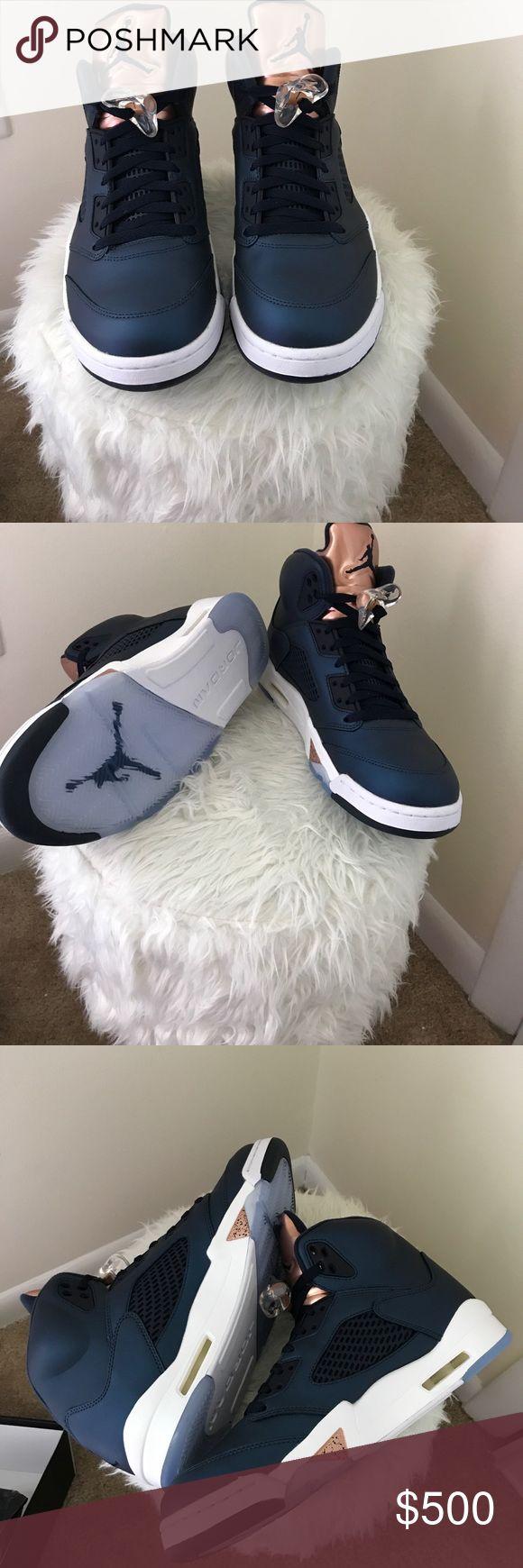 Air Jordan 5 Retro Men's Air Jordan 5 Retros. Size 10. BRAND NEW with box! Never worn. Make an offer ! Air Jordan Shoes Sneakers