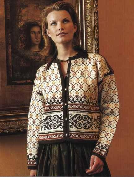 Allegro Yarns - Dale of Norway Kits 3001 Ridderspore