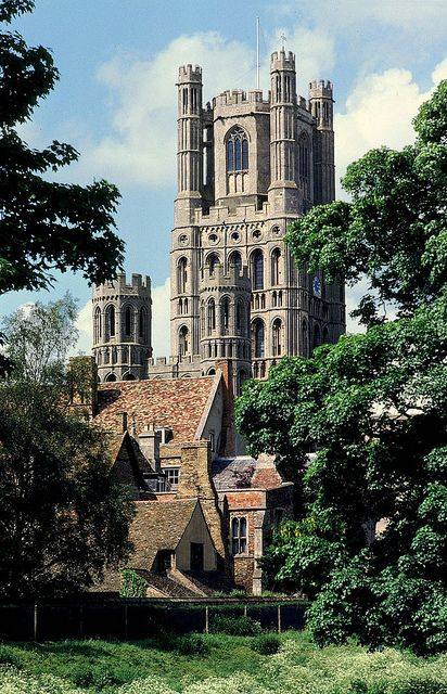 Ely Cathedral, England (I graduated in this beautiful building!)