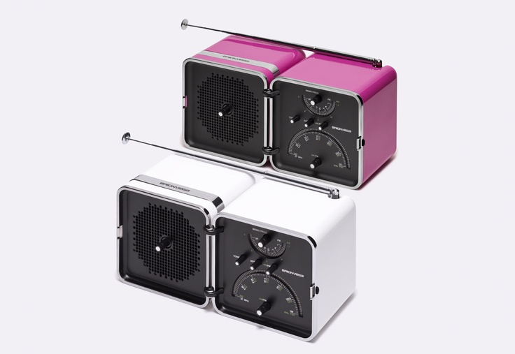 #RadioCubo #Bianco #Neve by #Brionvega Collection .  It #sounds #different.