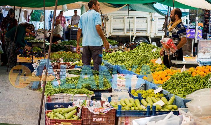 Фруктово-овощные базары в Аланье. http://7plus.pro/shopping/market  #Аланья #Alanya #рынки #базары #фрукты #овощи #места #график #время #цены #торговля