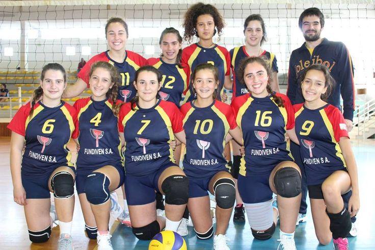 Torneio de Voleibol na Lousã - CVA Equipa de Cadetes 2015/2016