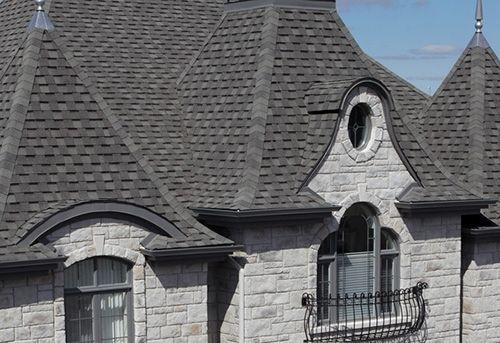 HOUSE Mystique Slate Grey-asphalt roofing reviews shingles