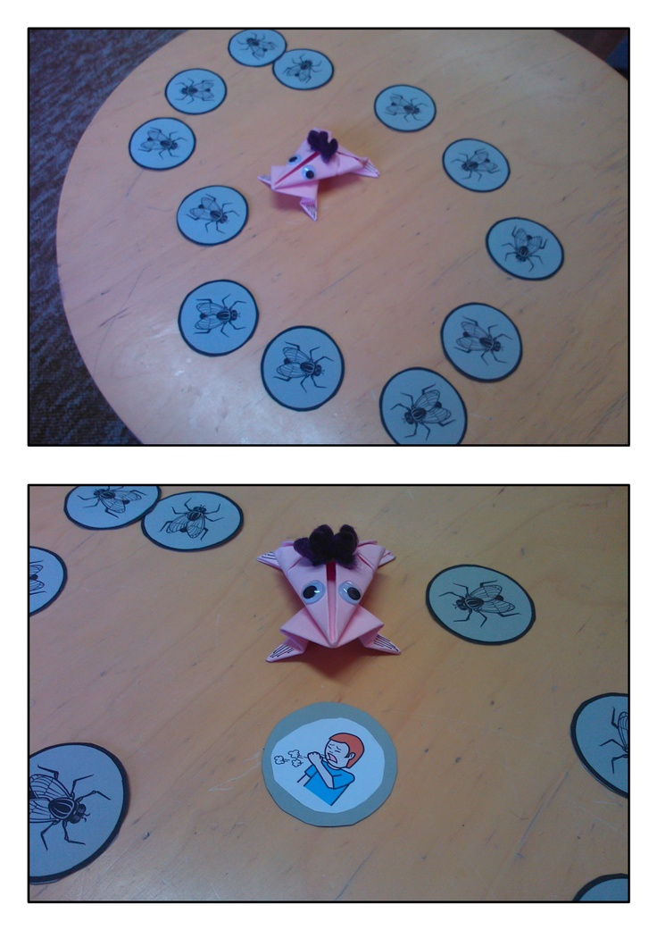 """Hungry Frog"" (Speech Articulation Game) for Speech Therapy"