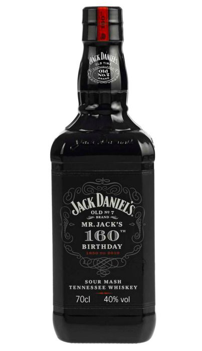 Jack Daniels 160th Anniversary bottle.