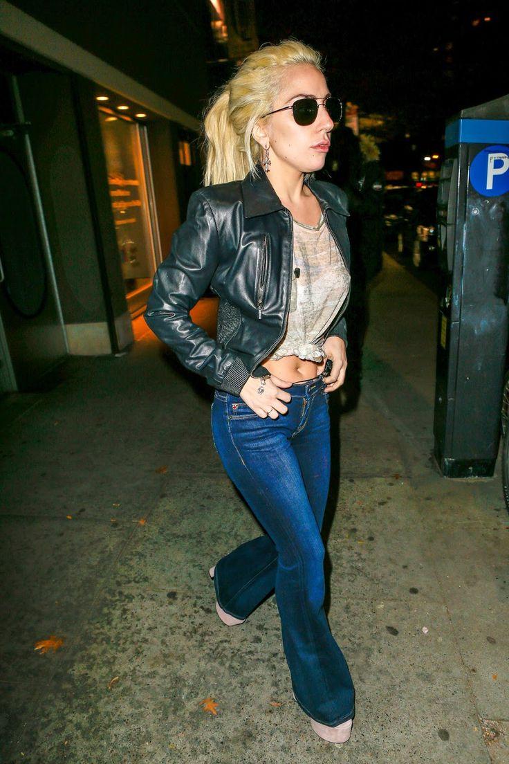 FOTOS HQ: Lady Gaga dejando estudio de grabación en Nueva York.