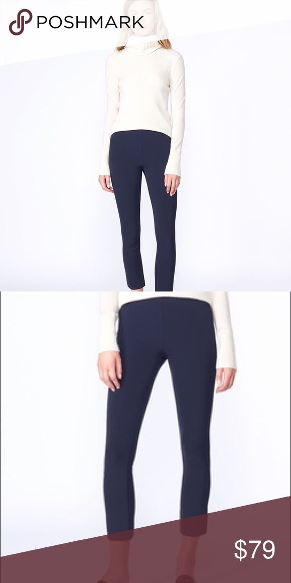 "❤️CCO❤️Veronica Beard Zip Back Scuba Pant The newest addition to the Scuba family, our Zip Back Scuba Pant is designed in the same stretch nylon fabric with flattering seam detailing you love. Wear it with our Scuba Dickey Jacket for a cool suit look. Available in Black and Navy. Mid-rise. Center back zipper. Hook and eye closure. 86% Nylon, 14% Elastane. Professional dry-clean only. Our model is 5'10"" and is wearing a size 4. Veronica Beard Pants Ankle & Cropped"