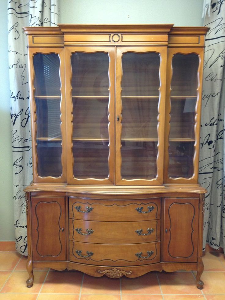 Just In! French Provincial Cabinet $1175 Custom Painted In Your Color  Choice. We Ship