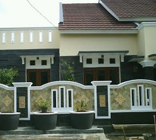 desain pagar depan rumah
