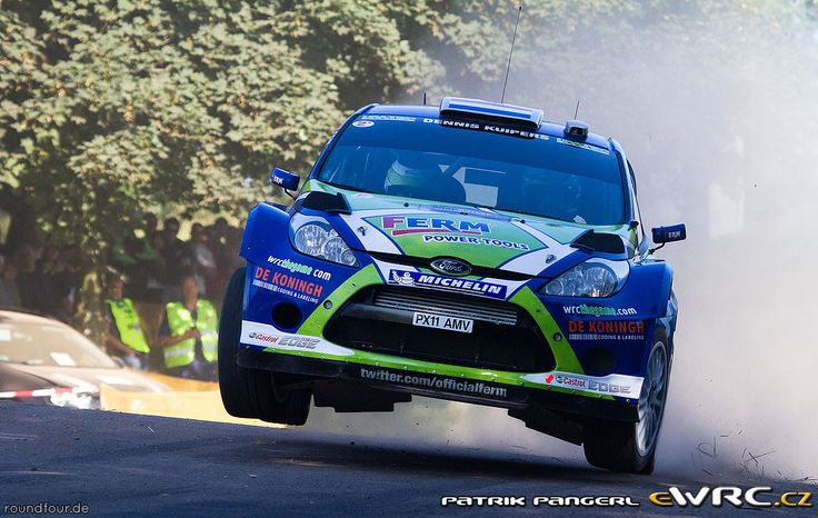 2011 Germany: Dennis Kuipers, Ford Fiesta RS WRC, 10th