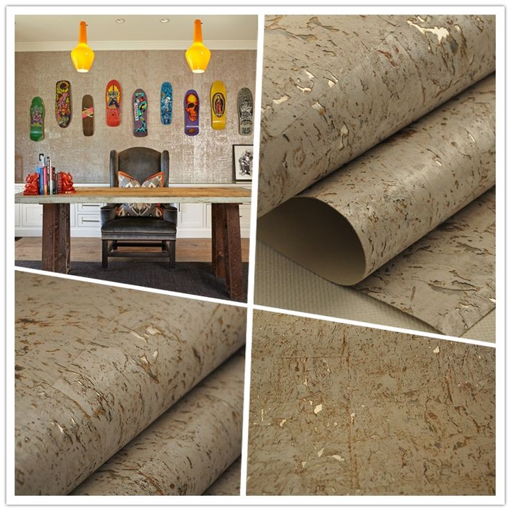 Popular Cork and Silver Wallpaper-Buy Cheap Cork and Silver ...