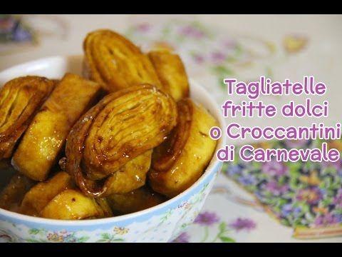 Tagliatelle fritte dolci di Carnevale | ricetta originale romagnola