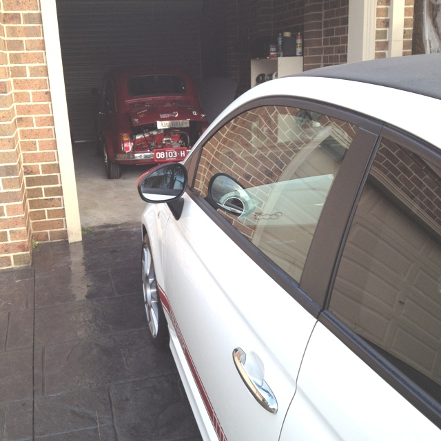 "Fiat 500 ""old school VS new school"""