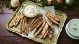 Orange, rosemary and almond biscotti with a zabaglione dip by Ian Cummings GBBO Season 2