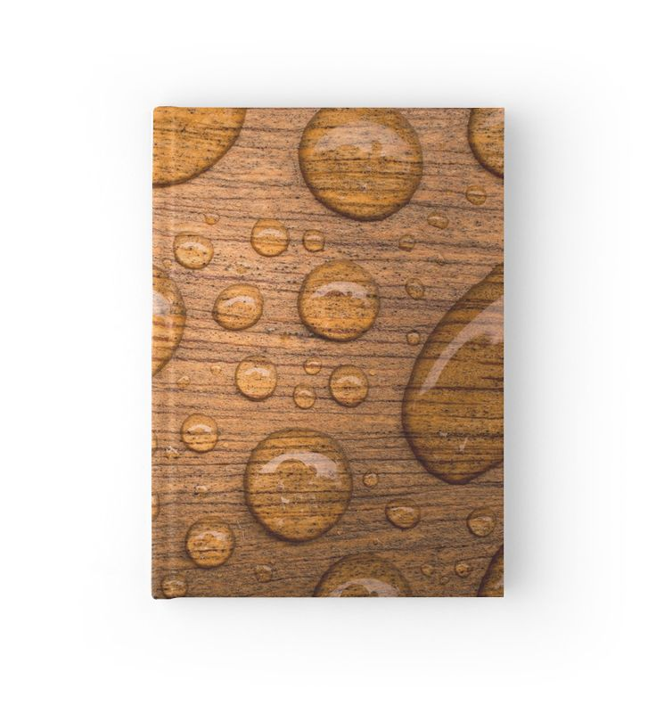 Water Drops / Gouttes d'eau Hardcover Journals by Galerie 503