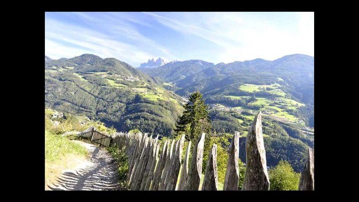 """Kastanienweg im Eisacktal - der """"Keschtnweg"""""""