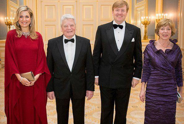 Queen Maxima, Joachim Gauck, King Willem - Alexander, Ms Daniela Schadt
