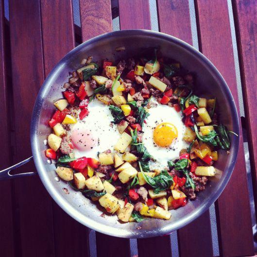 Breakfast Skillet | food & d r i n k s | Pinterest