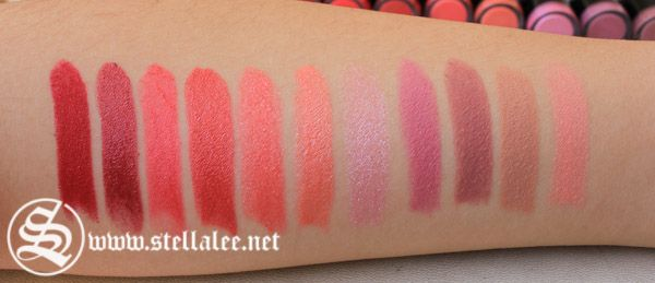 NYX Round Lipstick Review + Swatches | Stella Lee