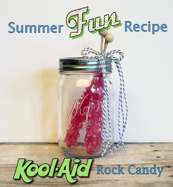how to make rock candy with koolaid