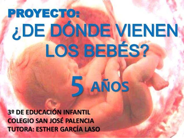 Proyecto: ¿De dónde vienen los bebés? 5 Años