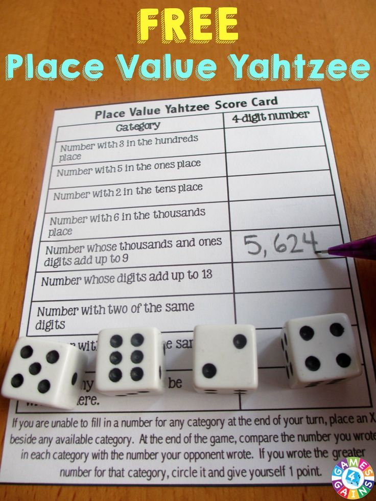This is such a fun game to help students practice place value.  Comes with 4 different levels of play!