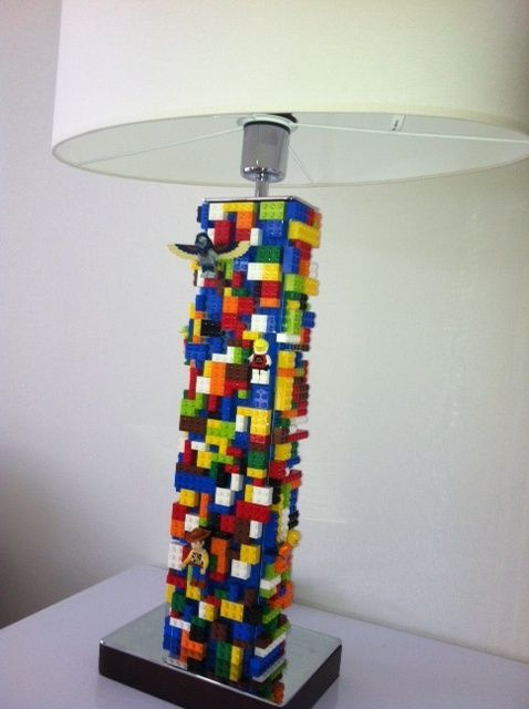 Cute Diy Mini Lego Led Lamps Lighting Lego Lamp Lego